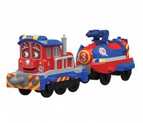 Chuggington Паровозик Калли с прицепом